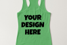 Ladies Tank Top Mockups - 20|Front/Back|PNG example image 4