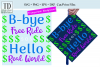 Bye Free Ride, Hello Real World- A Graduation Hat SVG example image 1