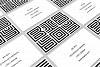 Maze Line Typeface example image 8