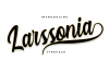 Larssonia Typeface example image 1