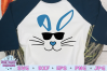 easter svg, bunny svg, easter bunny svg, bunny sunglasses example image 1