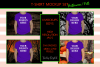 Halloween and Fall Boys t-shirt Mockup Bundle, Colored T's example image 2