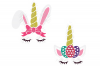 Unicorn Easter Bunny SVG in SVG, DXF, EPS, PNG, JPG example image 2