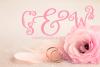 Love Monogram example image 3
