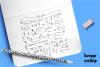 Hey Prettiness! Font & Bonus Vectors example image 8