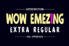 Wow Emezing Font Duo example image 2