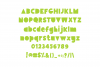 Giggle Glory, a fun block font example image 5