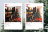 Christmas presets, winter lightroom instagram dng pc mobile example image 5