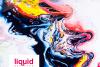 Textures liquid watercolor acrylic marble example image 2