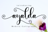 Ayalda Script example image 1