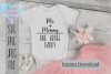 Me and Mommy, 1 Broke Daddy| Baby onesie SVG | SVG Cut File example image 1
