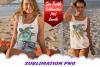 Sea Turtle Palm Beach Sublimation PNG Bundle example image 2
