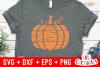 Distressed Pumpkin | Autumn | Fall cut File example image 2