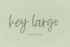 Key Largo Brush Script example image 1