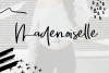 Mademoiselle - Chic Brush Font example image 1