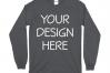 Gildan 5400 Long Sleeve Tshirt Mockups-16 example image 3