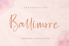 Ballimore - Modern Signature example image 1