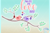 Youre My Love Bird Valentines Day Quote Svg Dxf Eps Png Pdf example image 3