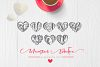 Monogram Valentine Font example image 7