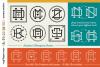 Magical Monogram Maker - DIY intertwined/interlocking SVG example image 3