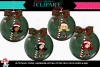 Candy Cane Girl Ornaments example image 1