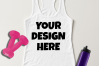 Ladies Tank Top Mockups - 20|Front/Back|PNG example image 21