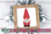 Gnome Pointy Hat - A Gnome SVG example image 1