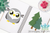 Owl Boys Clipart, Instant Download Vector Art example image 3