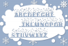 Christmas Mornings | Winter & Christmas Font with Extras example image 2