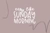 Sunday Morning - A Handwritten Script Font example image 3