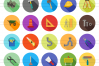 50 Tools Flat Long Shadow Icons example image 2