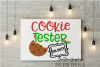 Christmas svg,cookie tester svg,cookie tester on duty svg example image 1