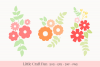 Flowers Svg, Florals Svg, Svg Files example image 1
