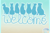 Cats Welcome Coir Door Mat Design Svg Dxf Eps Png Pdf Files example image 3