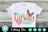Cutest Turkey in Town - A Thanksgiving SVG Cut File example image 1