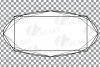Geometric lineal black frames decor clip art. Wedding border example image 19