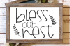 Welcome - Home - Family - Bless - Doormat Bundle SVG example image 6