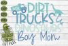 Mommy & Me - Boy SVG Cut File / Dirt, Trucks. Dinosaurs example image 2