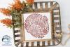Fall Zentangle SVG Bundle | Fall Mandala SVG Cut Files example image 7