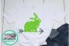 Grunge bunny svg,bunny svgs,easter bunny svg,grunge easter example image 1