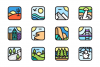 Environment App Icons example image 1