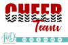 Cheer Team - Cheerleader SVG, DXF, AI, EPS, PNG, JPEG example image 1