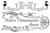 Naive Ornaments Three example image 4
