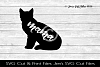 Cat Mama SVG Cut File example image 1
