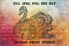 Swan SVG, Zentangle SVG, Mandala svg, Wedding svg, Bird svg example image 1