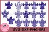 Christmas Angels Svg, Christmas Angel Cut File, Angel Vector example image 1