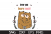 Beary Much SVG DXF PNG EPS example image 1
