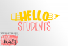 Hello Students SVG DXF EPS PNG example image 2