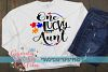 Autism Awareness | One Lucky Aunt Cut File example image 5