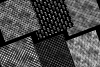 Black and Silver Art Deco Digital Paper example image 5